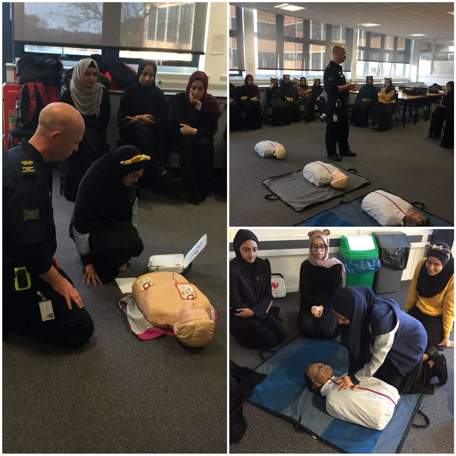 School CPR Training